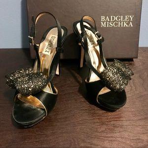 Badgley Mischka Black Stiletto Heels